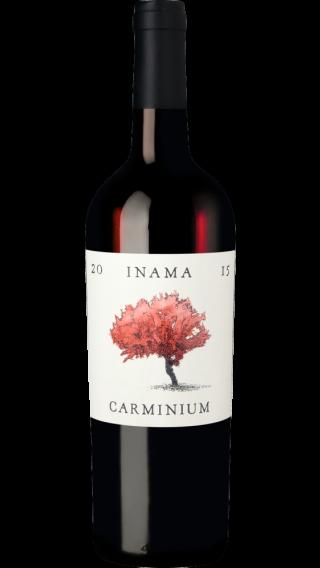 Bottle of Inama Carminium 2015 wine 750 ml