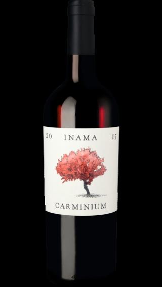 Bottle of Inama Carminium 2016 wine 750 ml