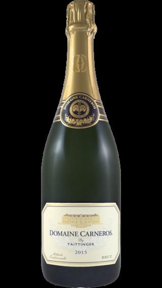 Bottle of Domaine Carneros by Taittinger Brut 2015 wine 750 ml