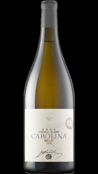 Bottle of Jakoncic Carolina Bela 2017 wine 750 ml
