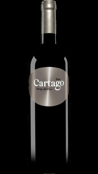 Bottle of San Roman Cartago Paraje de Pozo Toro 2015 wine 750 ml