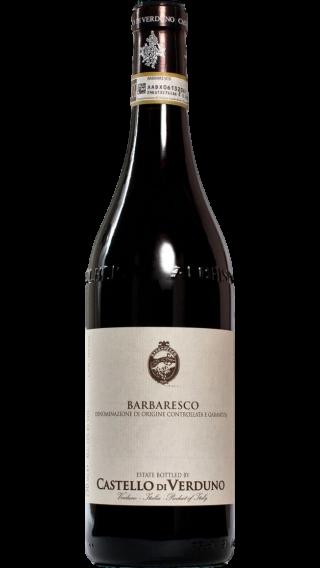 Bottle of Castello di Verduno Barbaresco 2017 wine 750 ml