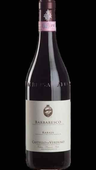 Bottle of Castello di Verduno Barbaresco Rabaja 2016 wine 750 ml