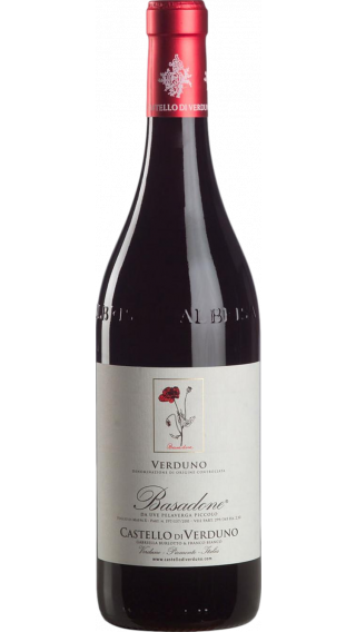 Bottle of Castello di Verduno Basadone Pelaverga 2017 wine 750 ml
