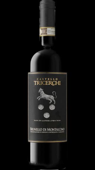 Bottle of Castello Tricerchi Brunello di Montalcino 2015 wine 750 ml