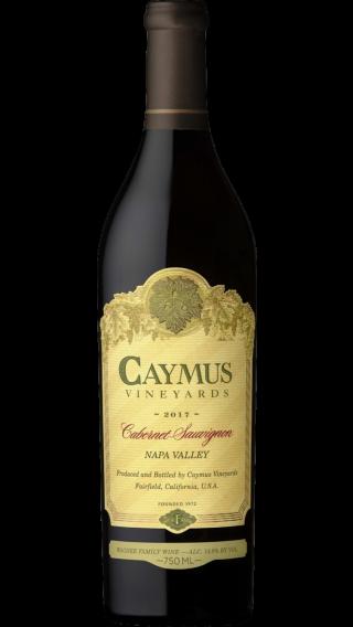 Bottle of Caymus Cabernet Sauvignon 2018 wine 750 ml