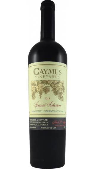 Bottle of Caymus Special Selection Cabernet Sauvignon 2016 wine 750 ml