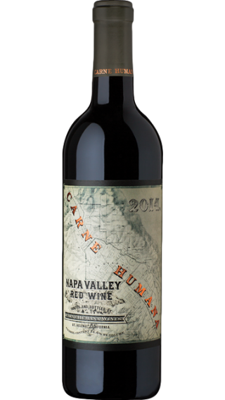 Bottle of Carne Humana Napa Valley Red 2014 wine 750 ml