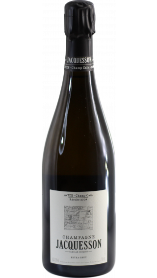 Bottle of Champagne Jacquesson  Avize Champ Cain 2009 wine 750 ml