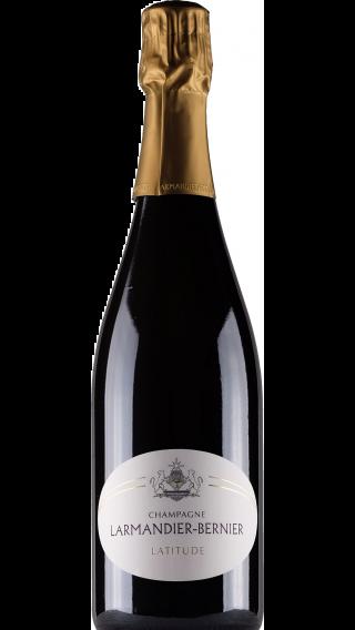 Bottle of Champagne Larmandier Bernier Latitude Blanc de Blancs wine 750 ml