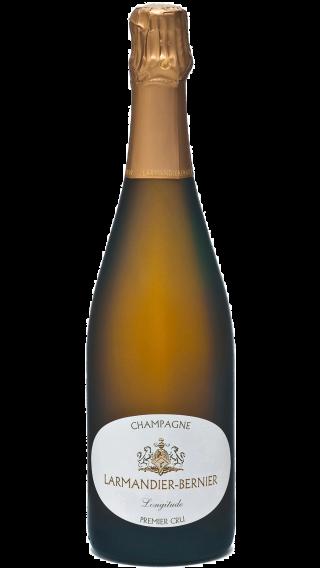 Bottle of Champagne Larmandier Bernier Longitude Blanc de Blancs Premier Cru wine 750 ml