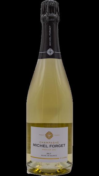 Bottle of Champagne Michel Forget Blanc de Blancs Premier Cru wine 750 ml