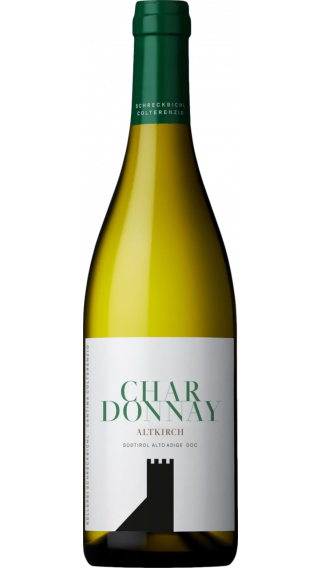 Bottle of Colterenzio Altkirch Chardonnay 2019 wine 750 ml