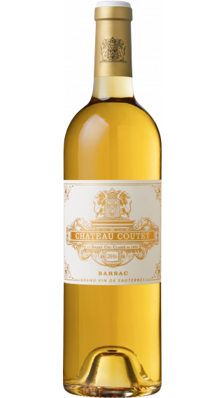 Bottle of Chateau Coutet  2016 wine 750 ml