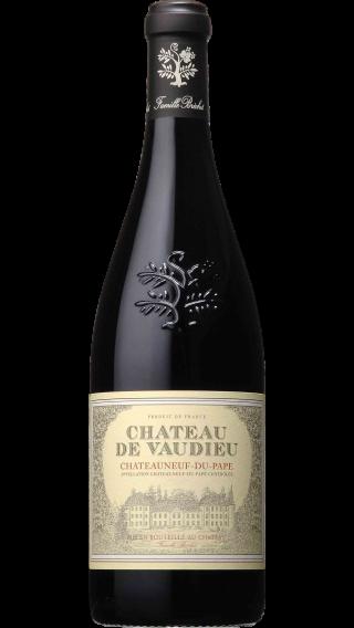 Bottle of Chateau de Vaudieu Chateauneuf Du Pape 2016 wine 750 ml