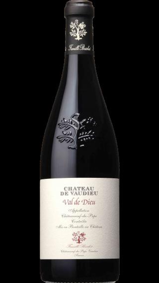Bottle of Chateau de Vaudieu Chateauneuf Du Pape Val de Dieu 2016 wine 750 ml