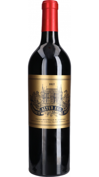 Bottle of Chateau Palmer Alter Ego 2017 wine 750 ml