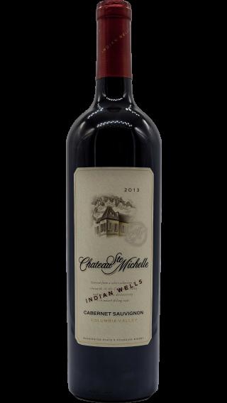 Bottle of Chateau Ste Michelle Indian Wells Cabernet Sauvignon 2013 wine 750 ml