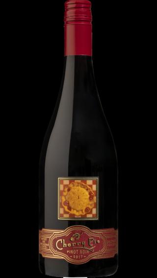 Bottle of Cherry Pie  Tri County Pinot Noir 2017 wine 750 ml