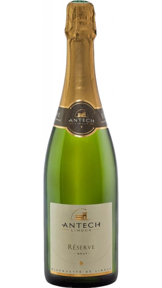Bottle of Antech Limoux Reserve Brut 2015 wine 750 ml