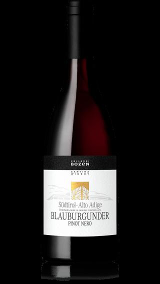 Bottle of Kellerei Bozen Blauburgunder 2019 wine 750 ml