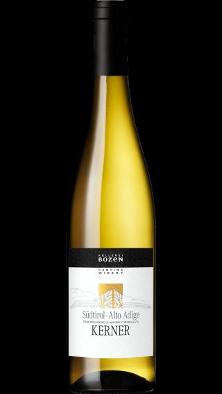 Bottle of Kellerei Bozen Kerner 2018 wine 750 ml