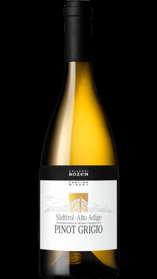 Bottle of Kellerei Bozen Pinot Grigio 2018 wine 750 ml