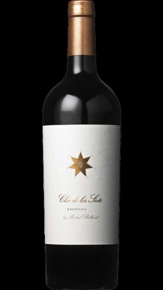 Bottle of Clos de los Siete 2016 wine 750 ml