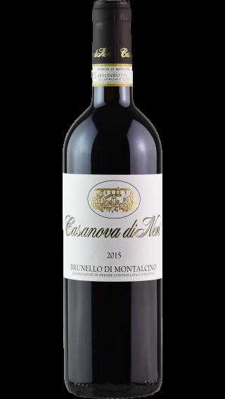 Bottle of Casanova Di Neri Brunello di Montalcino 2015 wine 750 ml
