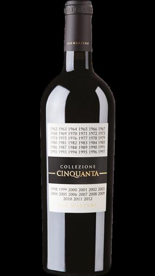 Bottle of San Marzano Collezione Cinquanta wine 750 ml