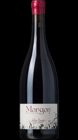 Bottle of Julien Sunier Morgon 2018 wine 750 ml