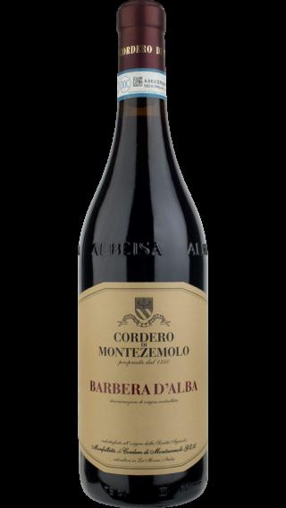 Bottle of Cordero di Montezemolo Barbera d ́Alba 2018 wine 750 ml