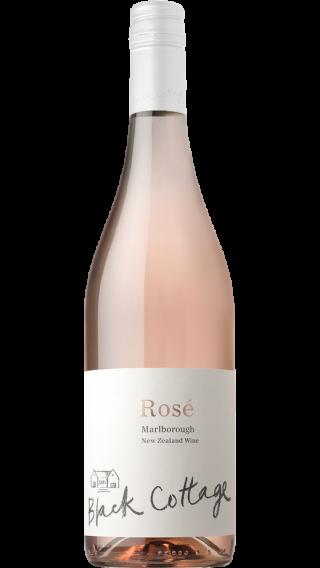 Bottle of Black Cottage Rose 2018 wine 750 ml