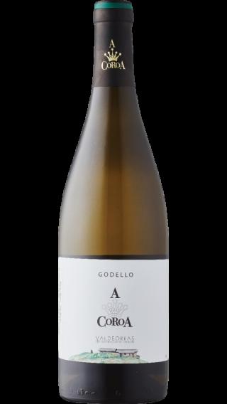 Bottle of A Coroa Godello 2019 wine 750 ml