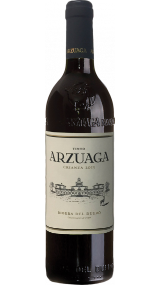 Bottle of Arzuaga Crianza 2015 wine 750 ml