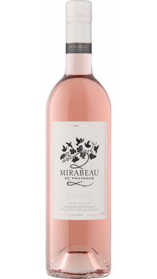 Bottle of Mirabeau Classic Provence Rose 2019 wine 750 ml
