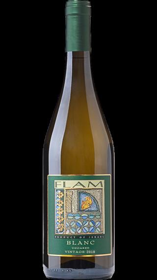 Bottle of Flam Blanc 2019 wine 750 ml