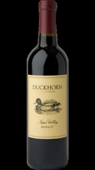 Bottle of Duckhorn Napa Valley Merlot 2013 wine 750 ml