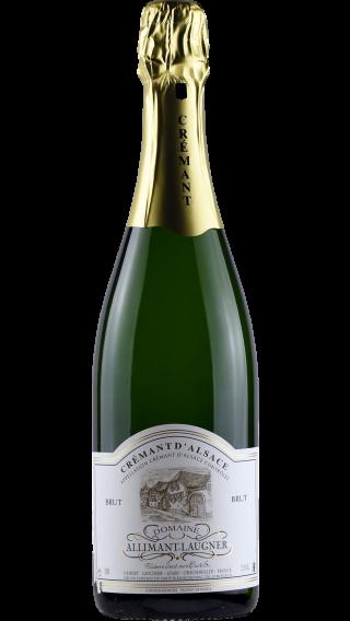 Bottle of Allimant Laugner Cremant d'Alsace Brut  wine 750 ml