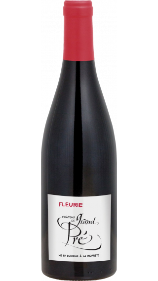 Bottle of Chateau de Grand Pre Fleurie 2018 wine 750 ml