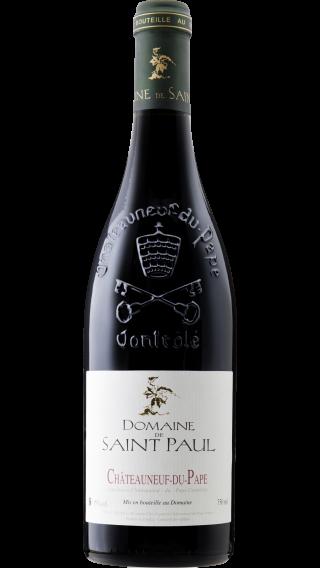 Bottle of Domaine de Saint Paul Chateauneuf Du Pape 2016 wine 750 ml