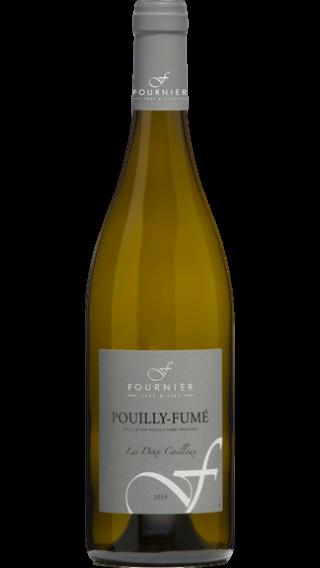 Bottle of Domaine Fournier Pouilly Fume Les Deux Cailloux 2019 wine 750 ml