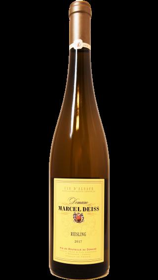 Bottle of Marcel Deiss Riesling 2017 wine 750 ml