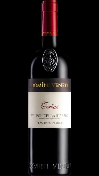 Bottle of Domini Veneti Vigneti di Torbe Valpolicella Ripasso Superiore 2018 wine 750 ml