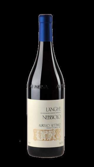 Bottle of Aurelio Settimo Langhe Nebbiolo 2016 wine 750 ml