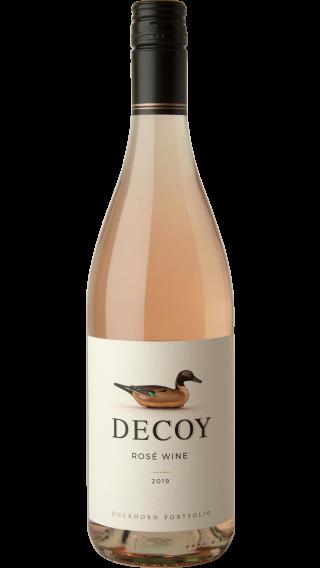 Bottle of Duckhorn Decoy Rose 2019 wine 750 ml