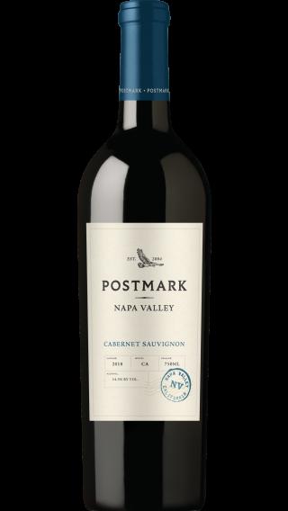 Bottle of Duckhorn Postmark Cabernet Sauvignon 2018 wine 750 ml