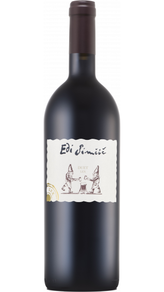 Bottle of Edi Simcic Duet Lex 2015 wine 750 ml