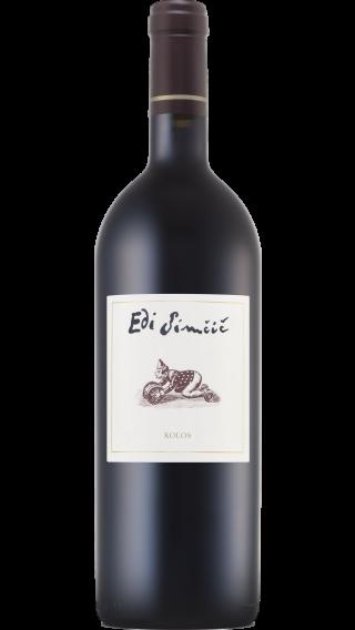 Bottle of Edi Simcic Kolos 2015 wine 750 ml