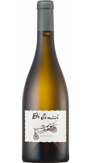 Bottle of Edi Simcic Malvazija 2018 wine 750 ml